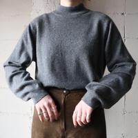 Mock Neck Cashmere Knit GR