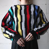 Stripe Knit BKGRREYE