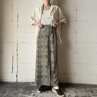 Pattern Wrap-around Skirt BE