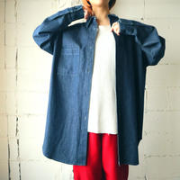 Denim Long Shirt BL