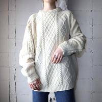 Hand Knit Fisherman's Sweater IV