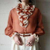 Frill Collar Blouse OR
