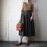 Small Pattern Flared Skirt KA