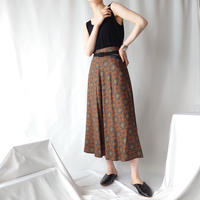 Arabesque Pattern Skirt BURGR