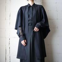 Vintage Flared Sleeve Robe BK