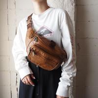 Leather Shoulder Pochette BR