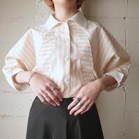 70's EURO Stripe Design Shirt YEWH