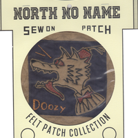 North No Name(ノースノーネーム)-FELT PATCH (DOOZY)