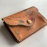 VASCO(ヴァスコ)-VS-702P  PAINT LEATHER POCKET WALLET( 1月入荷予定)