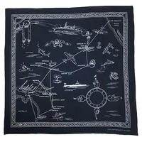 NorthNoName(ノースノーネーム)-AIR RUUTE BANDANA(NAVY)