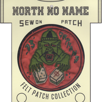 North No Name(ノースノーネーム)-FELT PATCH 13' ORPHANS