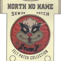 North No Name(ノースノーネーム)-FELT PATCH (STINKY)