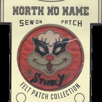 North No Name(ノースノーネーム)-FELT PATCH (STINKY)
