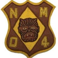 North No Name(ノースノーネーム)-FELT PATCH(WOLF MAN)