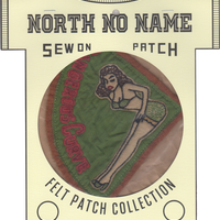 North No Name(ノースノーネーム)-FELT PATCH (DANGEROUS)
