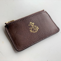 VASCO(ヴァスコ)-VSC-722Z LEATHER NAVAL ZIP POCKET WALLET( 1月入荷予定)