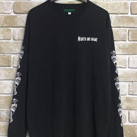 "NorthNoName(ノースノーネーム)-PATCH PATTERN L/S T ""EAGLE""(BLACK)"