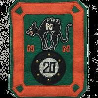 North No Name(ノースノーネーム)-FELT PATCH(CAT)