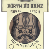 North No Name(ノースノーネーム)-FELT PATCH (SHOES)