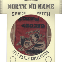North No Name(ノースノーネーム)-FELT PATCH HORSE AROUND