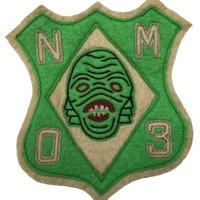 North No Name(ノースノーネーム)-FELT PATCH(MERMAN)
