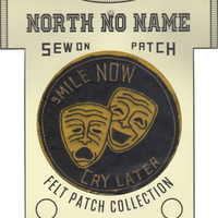 North No Name(ノースノーネーム)-FELT PATCH SMILE NOW