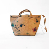 VASCO(ヴァスコ)-VS-212LP   PAINT LEATHER PORSE BAG -SMALL( 1月入荷予定)
