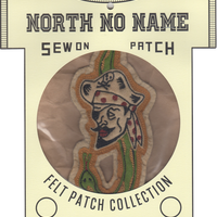 North No Name(ノースノーネーム)-FELT PATCH PIRATE SNAKE