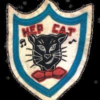 North No Name(ノースノーネーム)-FELT PATCH(HEP CAT)