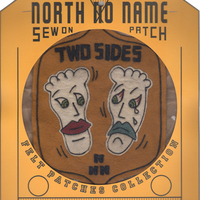 North No Name(ノースノーネーム)-FELT PATCH TWO SIDES