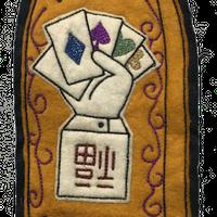 North No Name(ノースノーネーム)-FELT PATCH(RISKY GAMBLE)