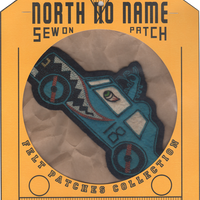 North No Name(ノースノーネーム)-FELT PATCH CAR