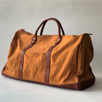 VASCO(ヴァスコ)-VS-261  CANVAS×LEATHER OLD BOSTON BAG( 6月入荷予定)