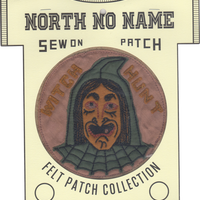 North No Name(ノースノーネーム)-FELT PATCH (WITCH HUNT)