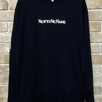 NorthNoName(ノースノーネーム)-ADVERTISING L/S T(BLACK)