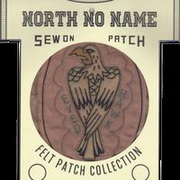 North No Name(ノースノーネーム)-FELT PATCH HAWK EYED