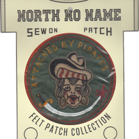 North No Name(ノースノーネーム)-FELT PATCH ATTACKED BY PIRATES