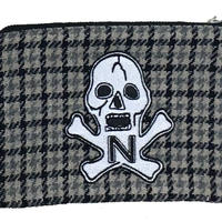 "NorthNoName(ノースノーネーム)- NNN PATCH PATERN ""SKULL"" POACH-SMALL(CHECK)"