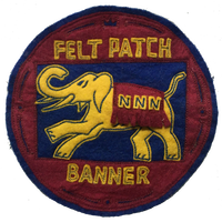 North No Name(ノースノーネーム)-FELT PATCH(ELEPHANT)