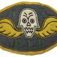 North No Name(ノースノーネーム)-FELT PATCH(SKULL WING)