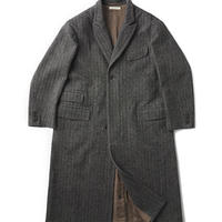 OLD JOE(オールドジョー) PEAKED LAPEL GENTS COAT(BASKET HERRINGBONE	)