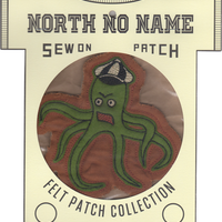 North No Name(ノースノーネーム)-FELT PATCH Octopus