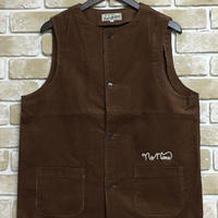NorthNoName(ノースノーネーム) - CORDUROY VEST(BROWN)