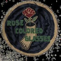 North No Name(ノースノーネーム)-FELT PATCH(ROSE COLORED GLASSES)