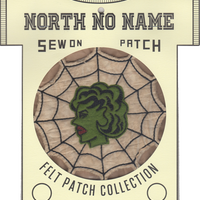 North No Name(ノースノーネーム)-FELT PATCH SPIDERWEB