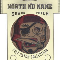 North No Name(ノースノーネーム)-FELT PATCH (PIRATES)