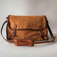 VASCO(ヴァスコ)-VS-258   CANVAS  MAILSHOULDER BAG -LARGE( 8月入荷予定)