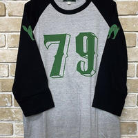 NorthNoName(ノースノーネーム)-NUMBERING BASEBALL T(GRAY/BLACK)