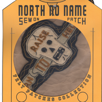 North No Name(ノースノーネーム)-FELT PATCH (RAISE)