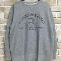 5WHISTLE(ファイブホイッスル) -FRONT V SWEAT(GRAY)